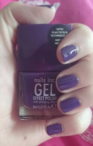 Nails Inc Gel Effect in Bond Street