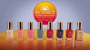Barry M Sunset Nails