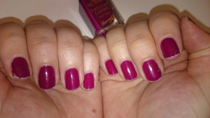 Barry M Sunset Nails in Fuchsia Generation