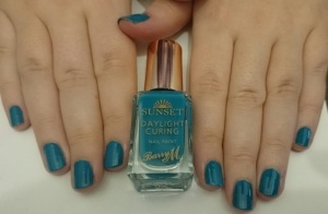 Barry M Sunset Nails in The Way You Make Me Teal