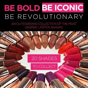 MUR Iconic Pro lipsticks