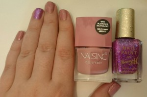 Nails Inc Uptown and Barry M Socialite