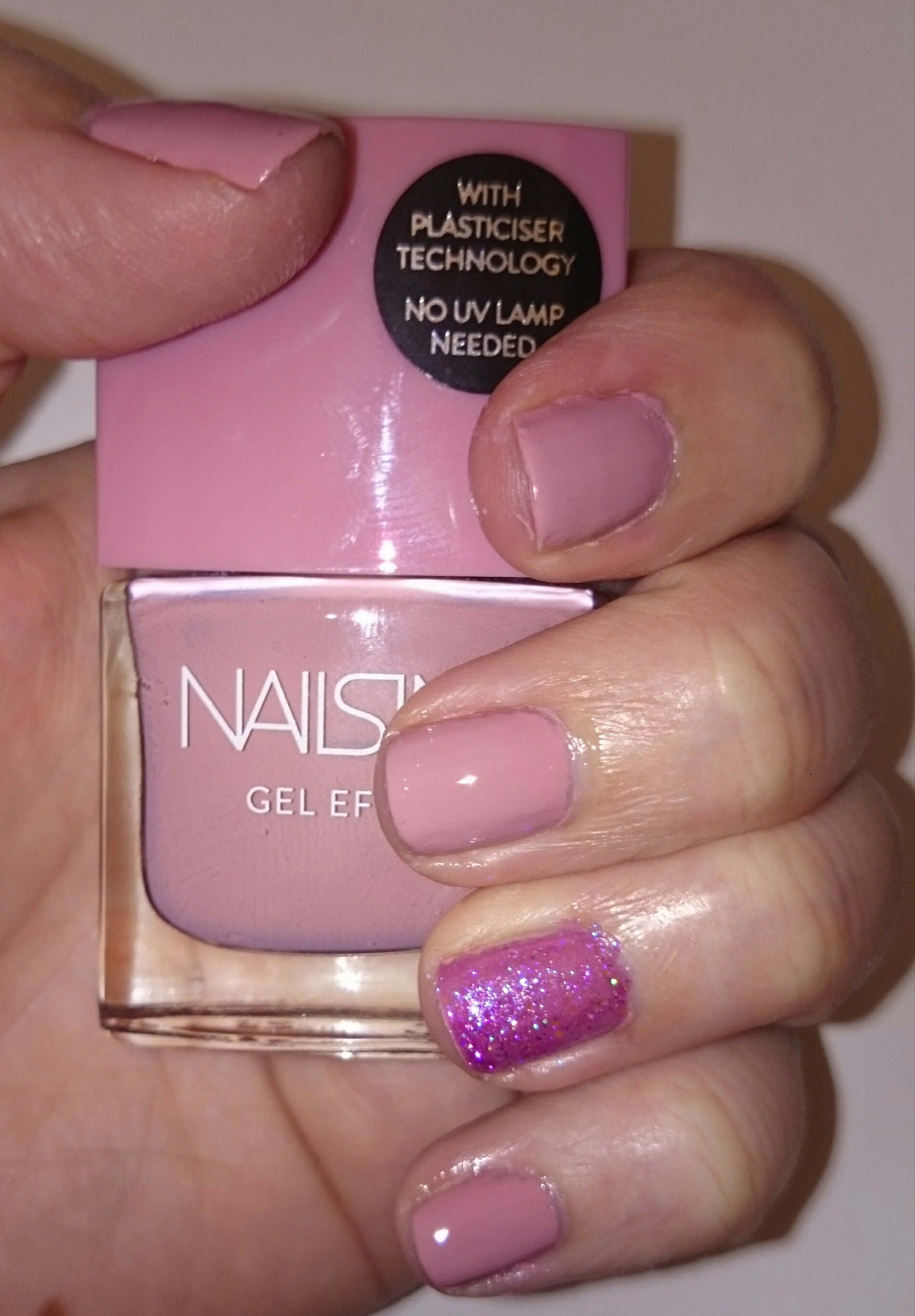 Nails of the Day (NOTD) - Nails Inc Uptown and Barry M Socialite ...