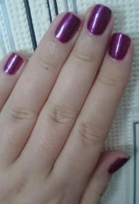 CND Nail polish 2 Sep 15