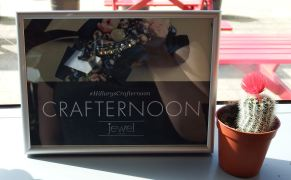 Crafternoon Sign