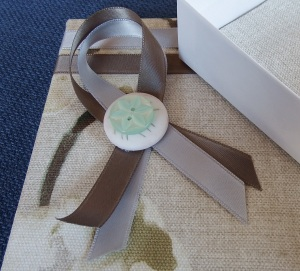 jewellery box bow close up