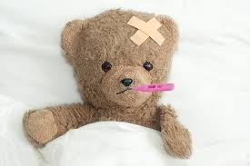 Poorly teddy