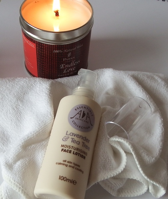 AA Skincare Lavender & Tea Tree Moisturising Face Lotion Review