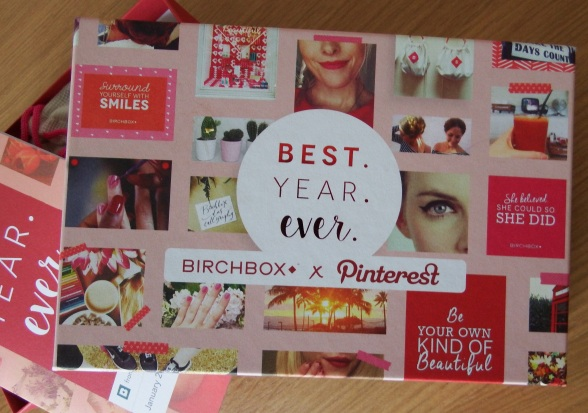 January 2016 Birchbox x Pinterest