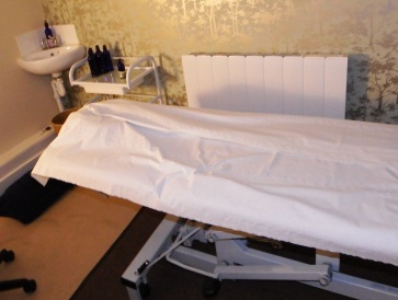 Treatment room at Neal's Yard Remedies Leeds