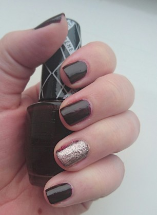 OPI I Sing in Color and Essence On Air Fall Nails