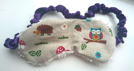 Prairie Charms Owl Sleep Mask