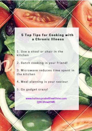 Top 5 Tips for Cooking with Chronic Illness