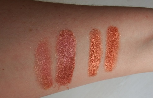 Makeup Geek Vegas Lights Swatches Birthday Wish Swatches