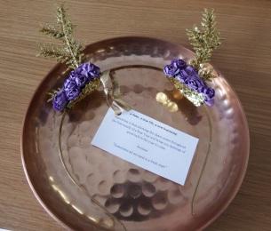 Prairie Charms Fawn Floral Headband