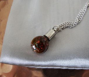 Prairie Charms Snowglobe necklace