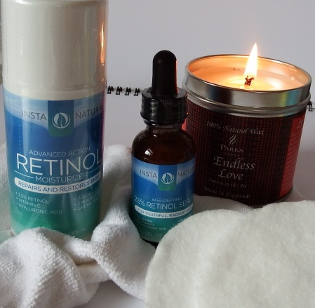 Insta Natural Retinol Moisturizer and Insta Natural 2.5% Retinol Serum