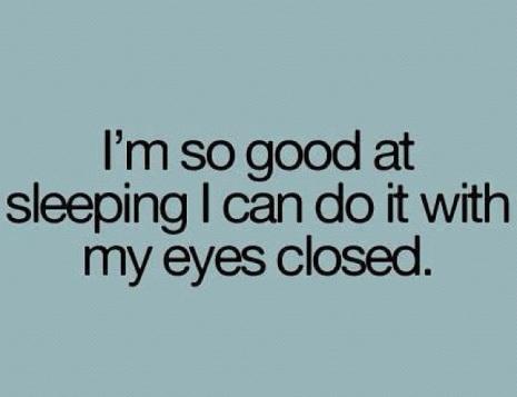 sleeping quote