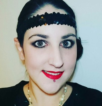 Great Gatsby 20s Twenties Makeup