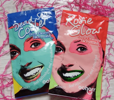Ooharr Dead Sea Cooler and Rosie Glows Face Masks
