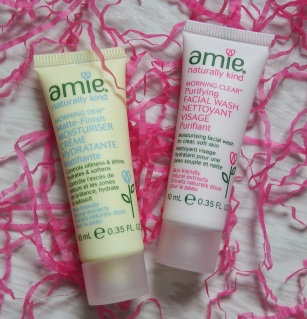 Amie Morning Dew Matte-Finish Moisturiser and Morning Clear Purifying Facial Wash