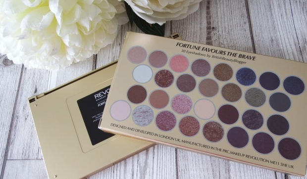 Makeup Revolution Fortune Favours The Brave Palette Review and Swatches