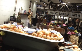 Lush Leeds Spa Tales of Bath Launch