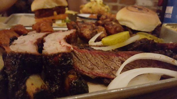 Smoke BBQ Leeds Meat Platter