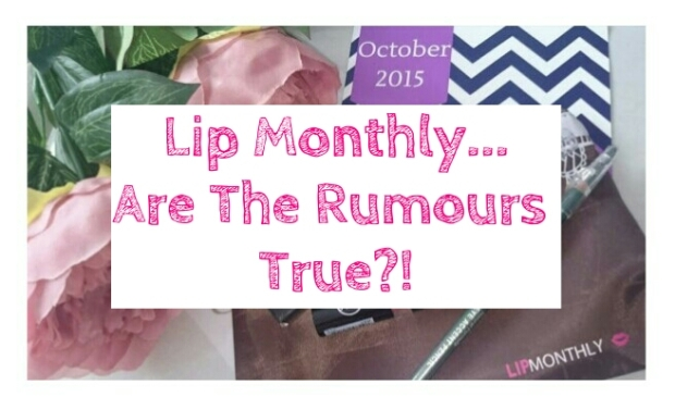 Lip Monthly - Are The Rumours True? Lip Monthly Honest Review