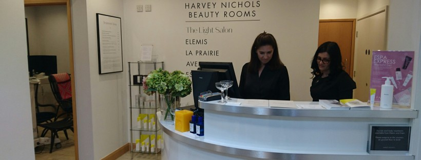 The Light Salon Harvey Nichols Leeds Beauty Rooms