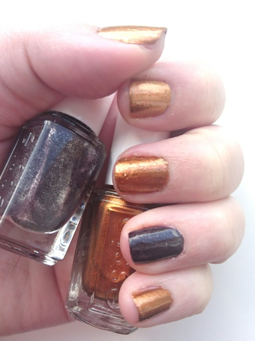 Essie Leggy Legend and Essie Frock n Roll Fall 2015 Collection Nail Polishes