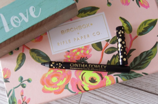 Cynthia Rowley Beauty Eyeliner in Black Birchbox April 2016 - Birchbox x Rifle Paper Co - Blooming Marvellous