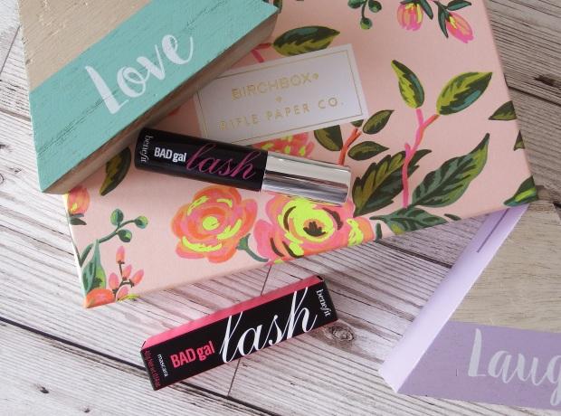 Benefit Bad Gal Lash Mascara Birchbox April 2016 - Birchbox x Rifle Paper Co - Blooming Marvellous