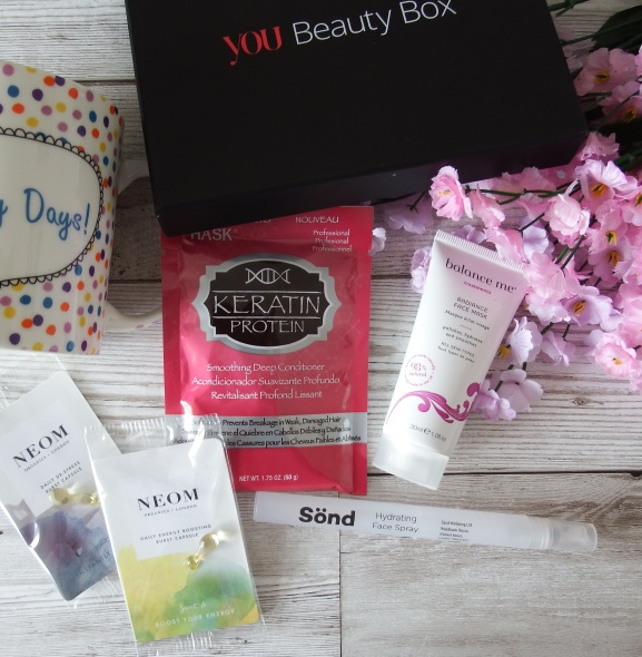 You Beauty Box April 2016 Review and Unboxing