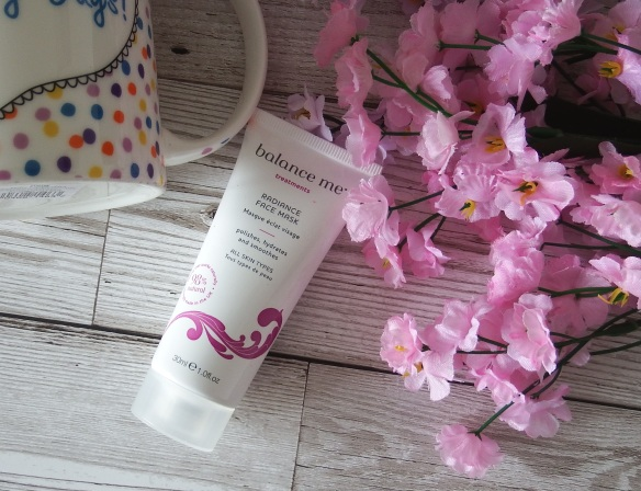 Balance Me Radiance Face Mask Review