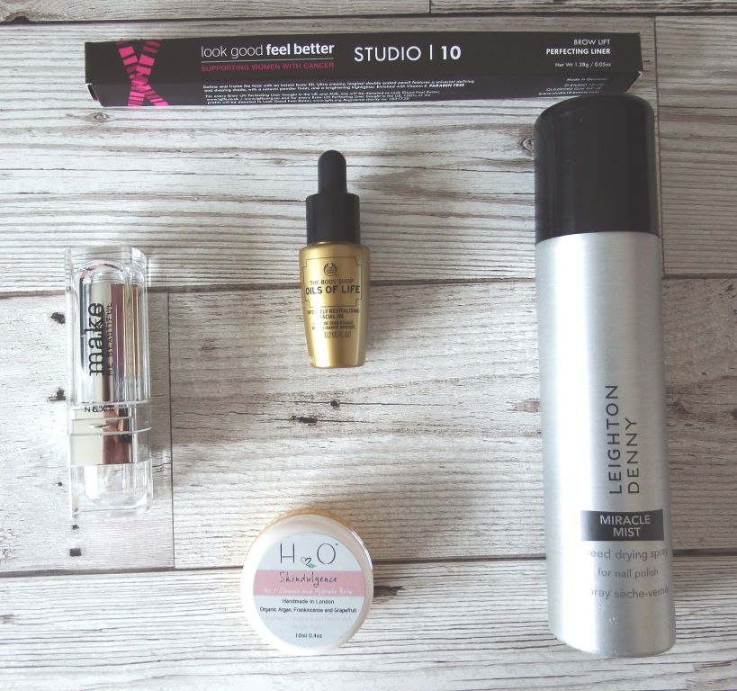 Glossybox April 2016 review and unboxing